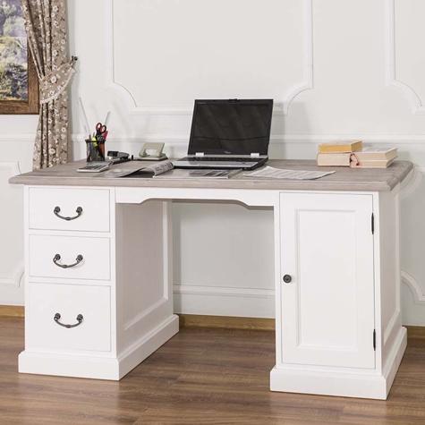 Písací stôl z borovicového dreva