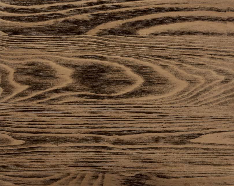 Výrazne brúsené drevo