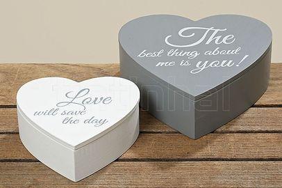 Krabica Heart 20 cm