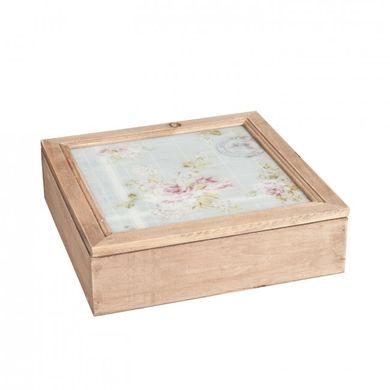 Krabica na čaj Rose