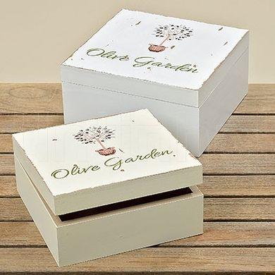 Krabica Olive Garden 18 cm