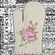 Rukavica Elegant Rose