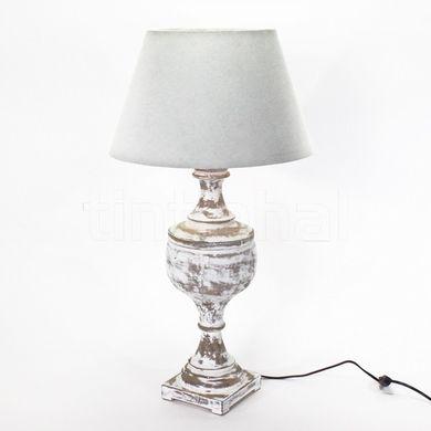 Lampa drevená