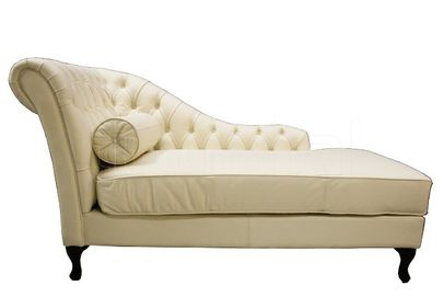 Chaise Lounge White
