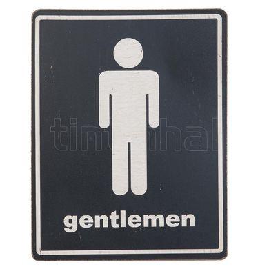 Tabuľka Gentlemen