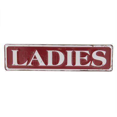 Tabuľka Ladies