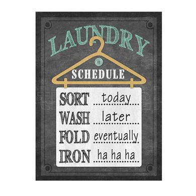 Tabuľka Laundry
