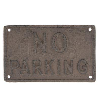 Tabuľka NO Parking