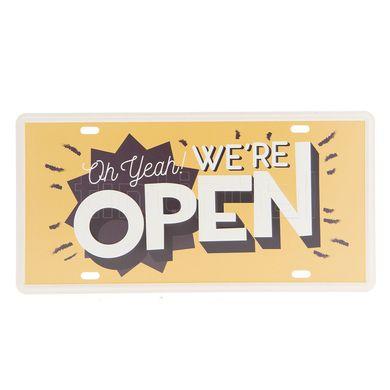 Tabuľka Open