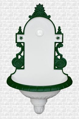 Umývadlo Alt Wien S bielo-zelená