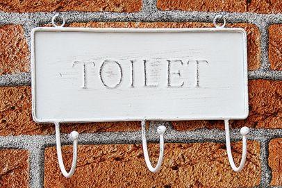 Vešiak na uteráky Toilet