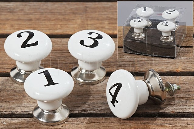 84c82bdf2abdb Úchytky Numbers - Tintinhal
